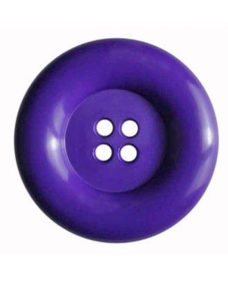 Modeknopf mit Wulstrand - Größe: 50mm - Farbe: lila - Art.Nr. 380086
