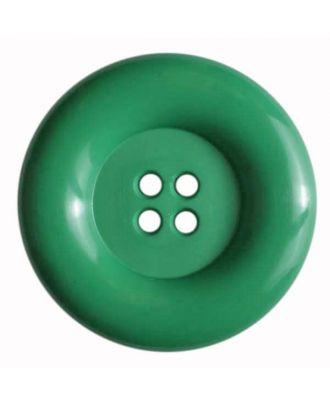 Modeknopf mit Wulstrand -  Größe: 50mm - Farbe: grün - Art.Nr. 380080