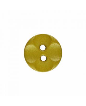 Polyamidknopf rund mit 2 Löchern - Größe: 13mm - Farbe: hellgrün - Art.-Nr.: 226816