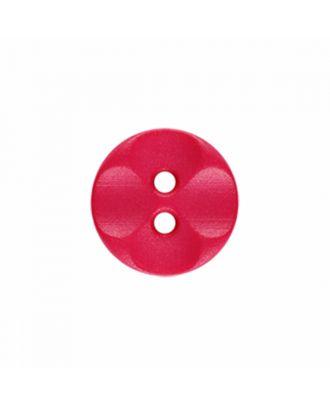 Polyamidknopf rund mit 2 Löchern - Größe: 13mm - Farbe: rosa - Art.-Nr.: 226822