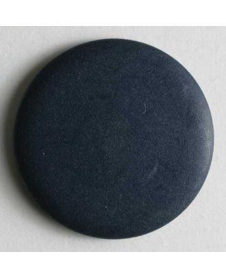 Modeknopf schlicht, glänzend -  Größe: 20mm - Farbe: blau - Art.Nr. 231224
