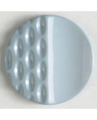 Polyamidknopf mit Löchern - Größe: 23mm - Farbe: grau - Art.Nr. 318600
