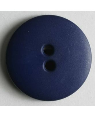 Modeknopf schlicht, matt, 2 Loch -  Größe: 11mm - Farbe: lila - Art.Nr. 150198