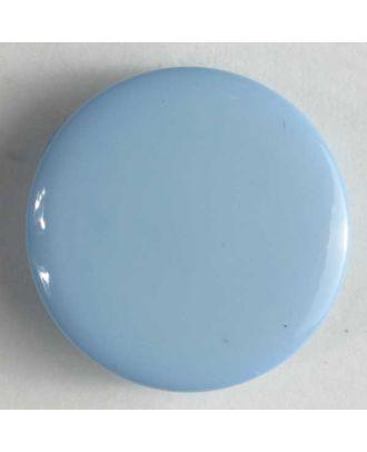 Modeknopf schlicht, glänzend -  Größe: 10mm - Farbe: blau - Art.Nr. 150149