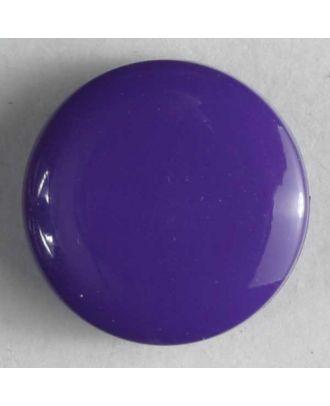Modeknopf schlicht, glänzend - Größe: 10mm - Farbe: lila - Art.Nr. 150154