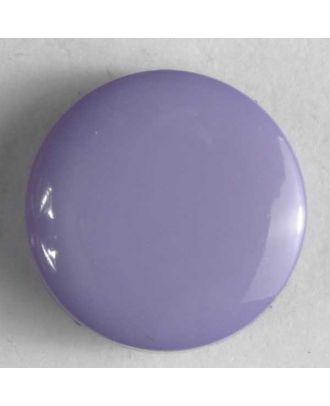 Modeknopf schlicht, glänzend - Größe: 15mm - Farbe: flieder - Art.Nr. 201059