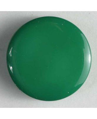 Modeknopf schlicht, glänzend - Größe: 10mm - Farbe: grün - Art.Nr. 150157