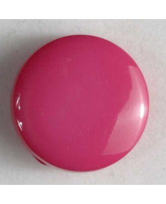 Modeknopf schlicht, glänzend -  Größe: 10mm - Farbe: pink - Art.Nr. 150159