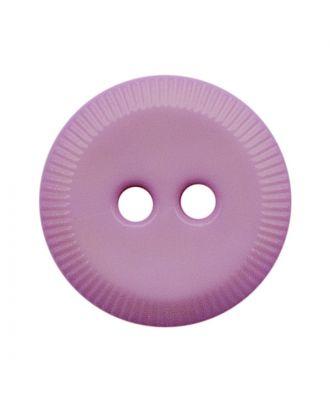 Polyamidknopf rund mit 2 Löchern - Größe:  13mm - Farbe: flieder - ArtNr.: 228807