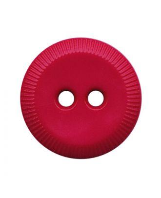 Polyamidknopf rund mit 2 Löchern - Größe:  13mm - Farbe: pink - ArtNr.: 228815