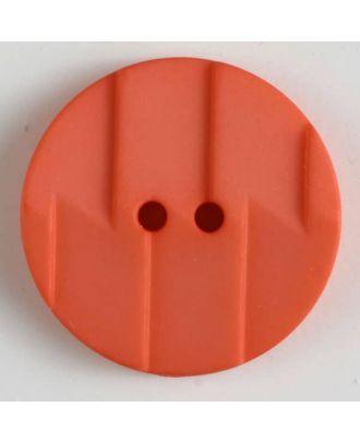 Polyamidknopf, Ton-in-Ton mit Abrißkante, 2-loch - Größe: 28mm - Farbe: pink - Art.Nr. 345607