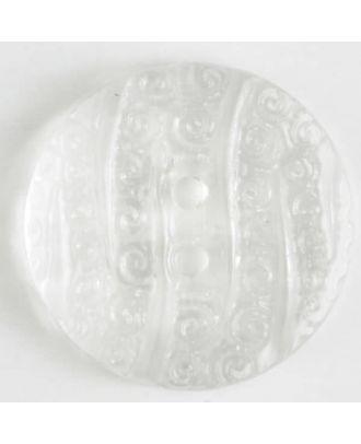 Modeknopf - Größe: 23mm - Farbe: transparent - Art.-Nr.: 310634