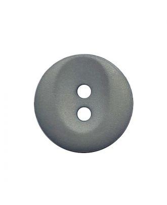 Polyamidknopf rund mit 2 Löchern - Größe:  13mm - Farbe: grau - ArtNr.: 222050
