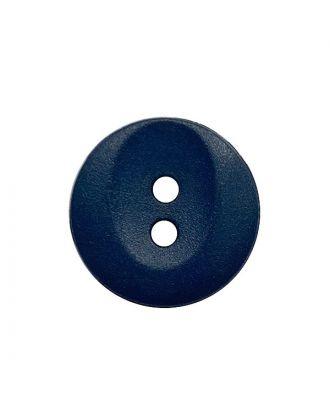 Polyamidknopf rund mit 2 Löchern - Größe:  13mm - Farbe: dunkelblau - ArtNr.: 222059