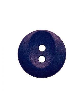 Polyamidknopf rund mit 2 Löchern - Größe:  13mm - Farbe: lila - ArtNr.: 222060
