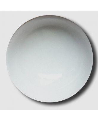 glänzende konvexe Halbkugel mit Öse  - Größe: 13mm - Farbe: grau - Art.Nr. 212835