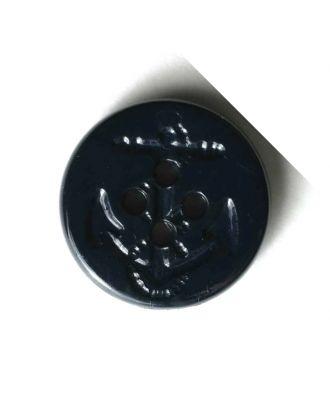 Ankerknopf - Größe: 15mm - Farbe: blau - Art.Nr. 221686