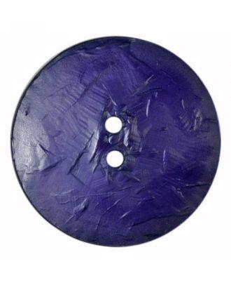 auffallend großer Knopf, rund - Größe: 60mm - Farbe: lila - Art.Nr. 410111