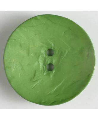 auffallend großer Knopf, rund - Größe: 60mm - Farbe: grün - Art.Nr. 410113