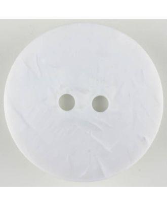 Polyamidknopf - Größe: 60mm - Farbe: weiss - Art.-Nr.: 410126