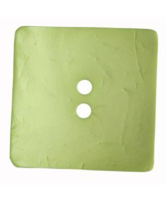 Großer Knopf, rechteckig - Größe: 60mm - Farbe: grün - Art.Nr. 410119