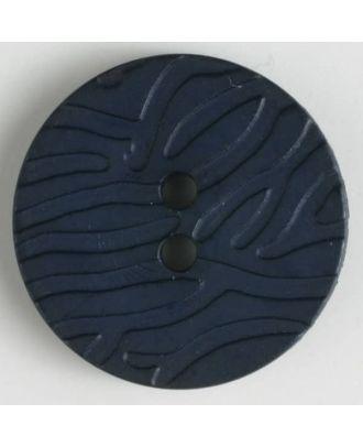 Modeknopf - Größe: 20mm - Farbe: dunkelblau - Art.-Nr.: 280897