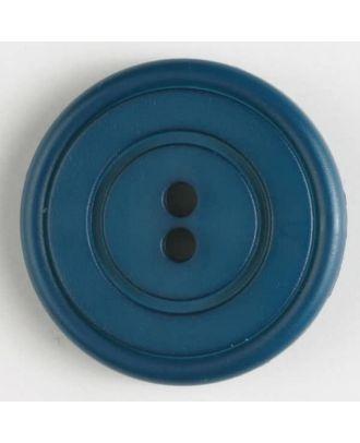 Modeknopf - Größe: 34mm - Farbe: blau - Art.-Nr.: 370434