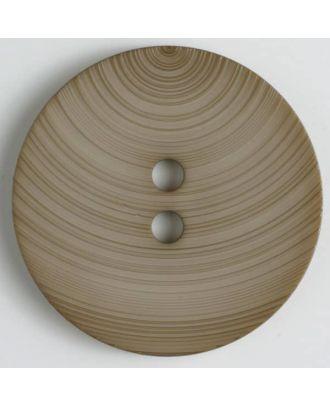 Modeknopf - Größe: 54mm - Farbe: beige - Art.-Nr.: 450123