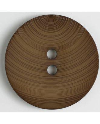 Modeknopf - Größe: 54mm - Farbe: braun - Art.-Nr.: 450124