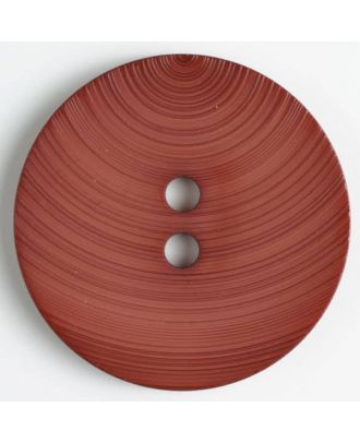 Modeknopf - Größe: 54mm - Farbe: braun - Art.-Nr.: 450125