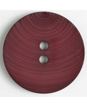 Modeknopf - Größe: 54mm - Farbe: dunkelrot - Art.-Nr.: 450128