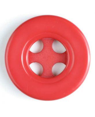 Modeknopf - Größe: 40mm - Farbe: rot - Art.-Nr.: 400113