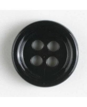 Modeknopf - Größe: 9mm - Farbe: schwarz - Art.-Nr.: 170516
