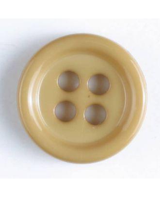 Modeknopf - Größe: 9mm - Farbe: beige - Art.-Nr.: 170517