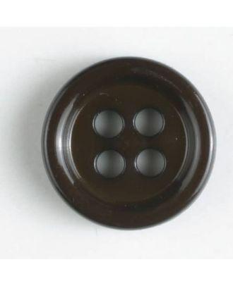 Modeknopf - Größe: 9mm - Farbe: braun - Art.-Nr.: 170518