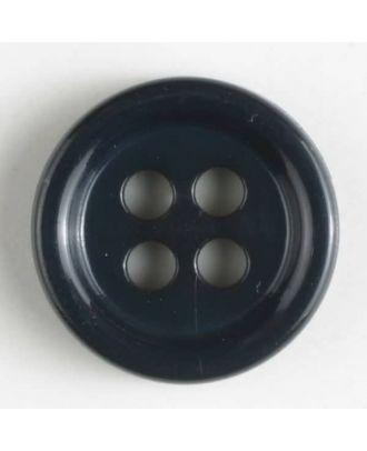 Modeknopf - Größe: 9mm - Farbe: dunkelblau - Art.-Nr.: 170519