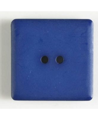 Kunststoffknopf, schlicht quadratisch - Größe: 25mm - Farbe: marineblau - Art.Nr. 318504