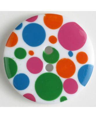 Modeknopf - Größe: 34mm - Farbe: transparent - Art.-Nr.: 370457