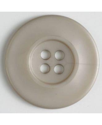 Modeknopf - Größe: 55mm - Farbe: beige - Art.-Nr.: 450132