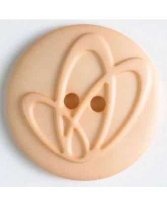 Polyamidknopf mit Löchern - Größe: 32mm - Farbe: pink - Art.Nr. 378616
