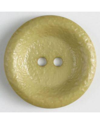 Polyamidknopf, glänzend unruhige Oberfläche, 2-loch - Größe: 34mm - Farbe: grün - Art.Nr. 372704