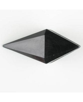 Polyamidknopf, Knebel mit Kanalöse - Größe: 42mm - Farbe: schwarz - Art.Nr. 420077