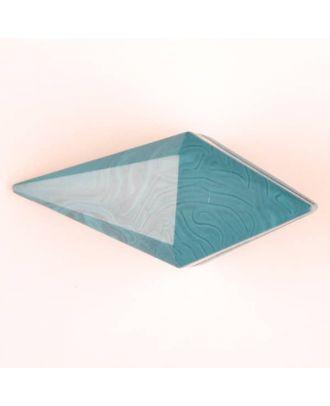 Polyamidknopf, Knebel mit Kanalöse - Größe: 42mm - Farbe: grün - Art.Nr. 424704