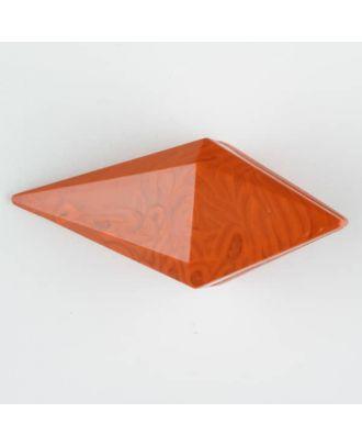 Polyamidknopf, Knebel mit Kanalöse - Größe: 20mm - Farbe: orange - Art.Nr. 334709