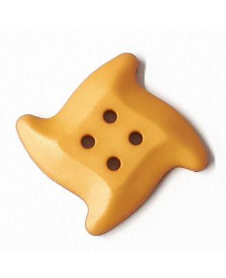 süßer Seesternknopf mit 4 Löchern - Größe: 32mm - Farbe: beige - Art.Nr. 372814