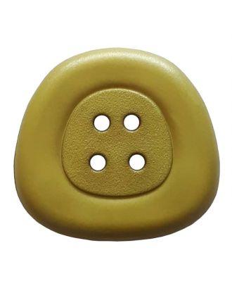 Polyamidknopf 4-Loch Trapez - Größe: 32mm - Farbe: grün - Art.Nr. 373822