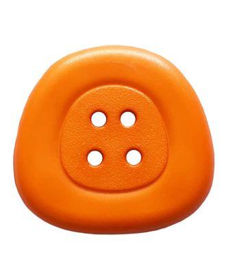 Polyamidknopf 4-Loch Trapez - Größe: 32mm - Farbe: orange - Art.Nr. 373828