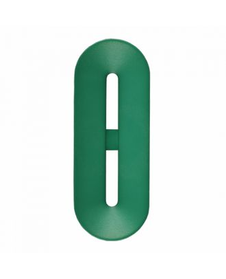 Polyamidknopf Knebelform 2 Löcher - Größe: 40mm - Farbe: hellgrün - Art.-Nr.: 406806