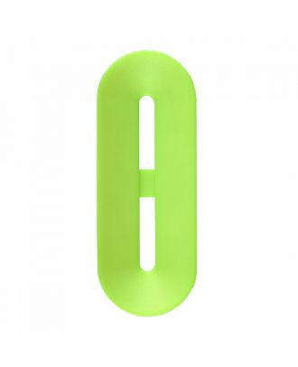 Polyamidknopf Knebelform 2 Löcher - Größe: 40mm - Farbe: hellgrün - Art.-Nr.: 406807