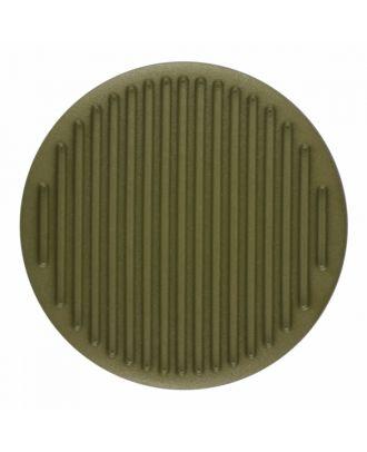 Polyamidknopf rund mit feiner Oberflächenstruktur und Öse  - Größe: 25mm - Farbe: hellgrün - Art.-Nr.: 346819